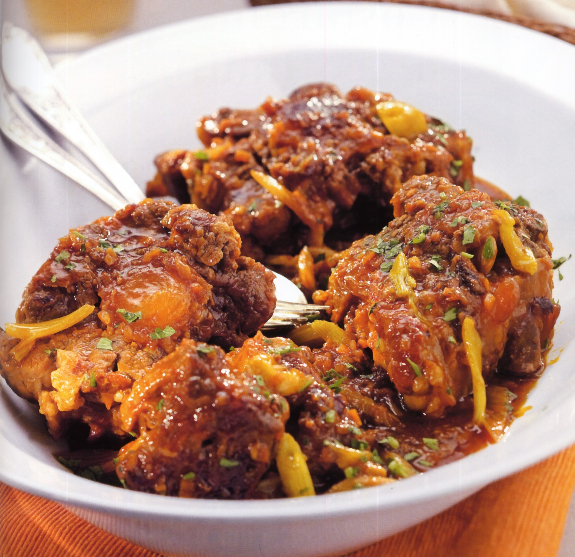Coda alla vaccinara piatti tipici del lazio italy eat food for Piatti tipici roma