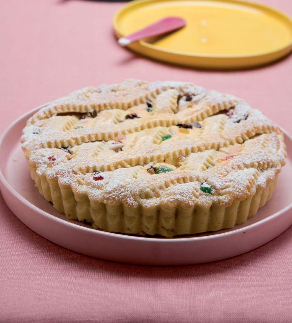 Crostata di ricotta romana piatti tipici del lazio italy for Piatti tipici roma