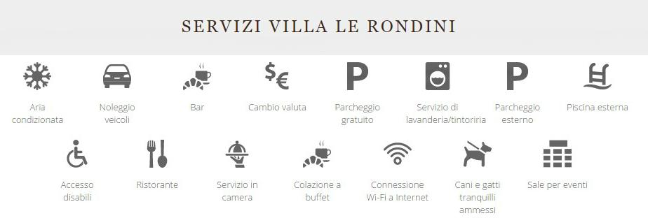 Ristorante Villa Le Rondini Firenze