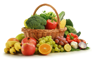 Italian fruits and vegetables