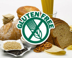 Manufacturers gluten-free products