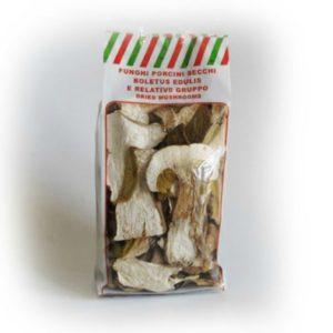 Funghi Porcini secchi, busta da 100g